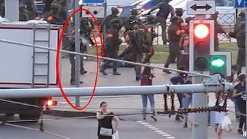 Białoruś. Żołnierz postrzelił dziennikarkę. Opublikowano nagranie