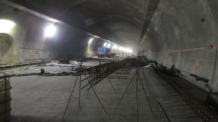 Tunel zakopianki ma 65 proc. zaawansowania budowy