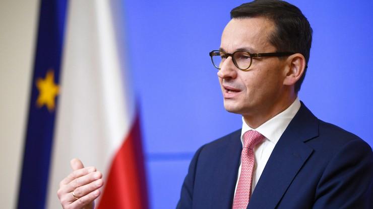 Morawiecki: zależy nam na tym, żeby Polska nie była atrakcyjnym krajem, do którego trafiają uchodźcy