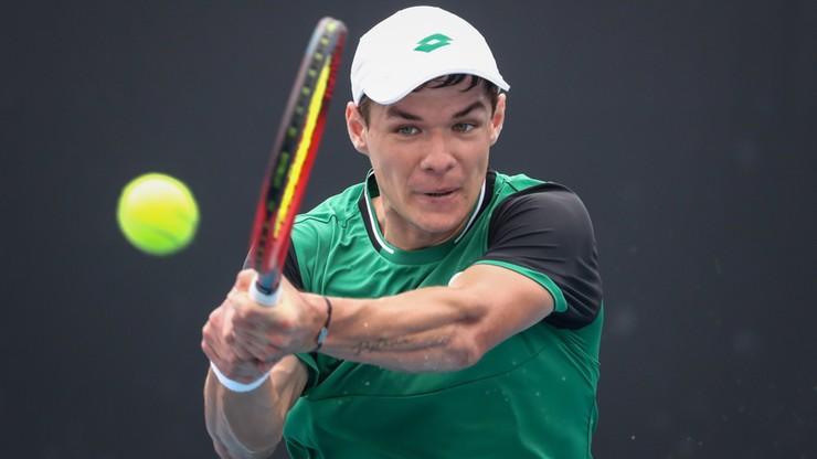 Australian Open: Kamil Majchrzak odpadł w I rundzie. Serb za mocny