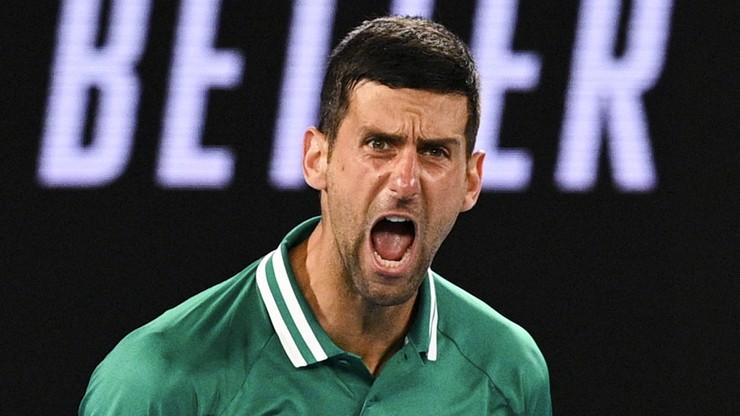 Australian Open: Djoković opuścił trening. Będzie mógł kontynuować grę?