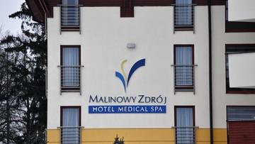 """Działalność hotelu """"Malinowy Zdrój"""" zgodna z prawem. Jednym z gości Krystyna Pawłowicz"""