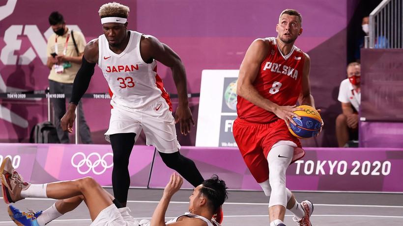 Tokio 2020: Polscy koszykarze 3x3 wygrali z Japonią