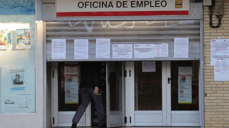 Ponad 833 tys. osób straciło pracę z powodu epidemii w Hiszpanii