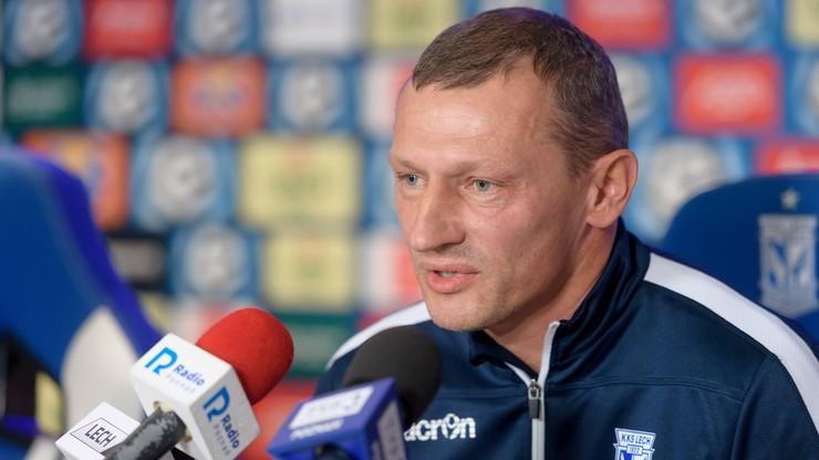 Nowy trener Lecha Poznań zadebiutuje w Białymstoku