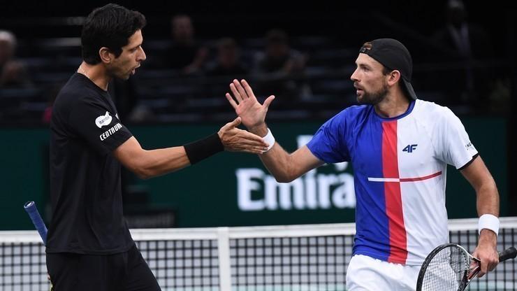 ATP Finals: Wygrana Łukasza Kubota i Marcelo Melo na pożegnanie