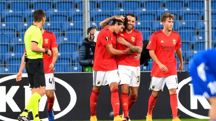 Liga Europy: Lech Poznań - Benfica 2:4. Skrót meczu (WIDEO)