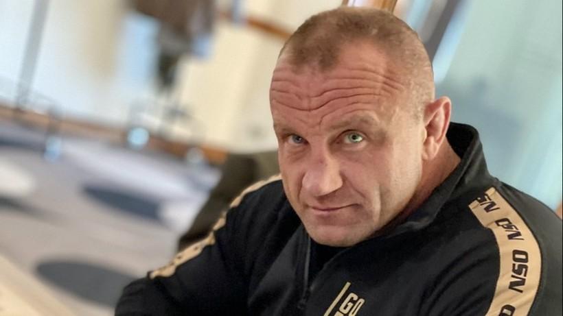 Pudzianowski zdradził, co pomyślał, kiedy Bombardier na niego ruszył