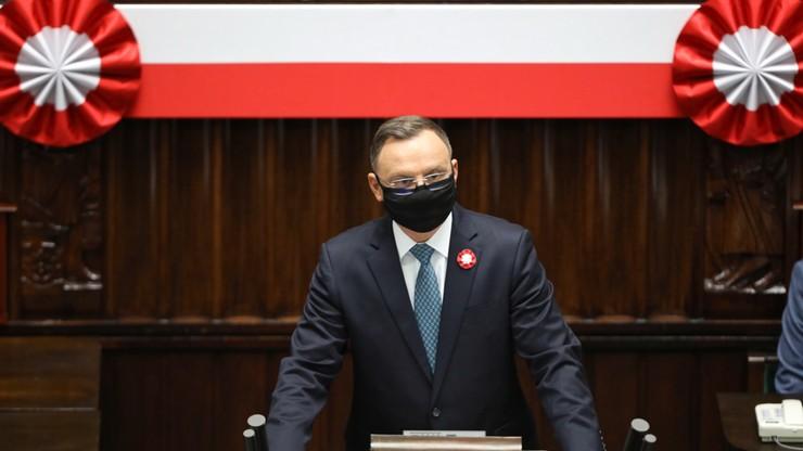 """Polsko-litewskie zgromadzenie parlamentu. """"Nasi przodkowie chcieli ugruntować wolność"""""""