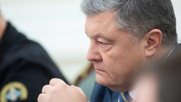 Poroszenko: istnieje poważne zagrożenie inwazją Rosji na pełną skalę