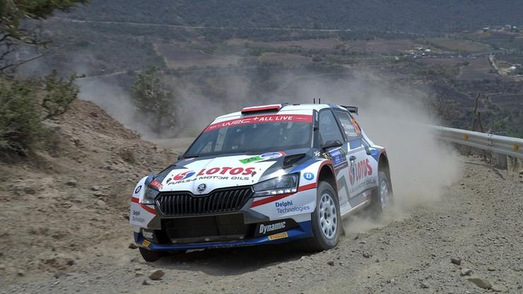 Rajd Meksyku 2020: Kajetanowicz i Szczepaniak w czołowej czwórce kategorii WRC3