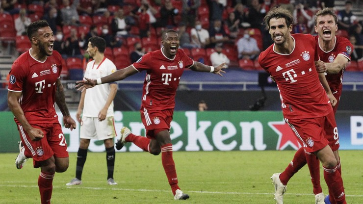 Robert Lewandowski z kolejnym trofeum! Bayern Monachium zwycięzcą Superpucharu Europy