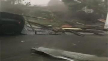 Huragan Maria uderzył w Portoryko. Poważne zniszczenia