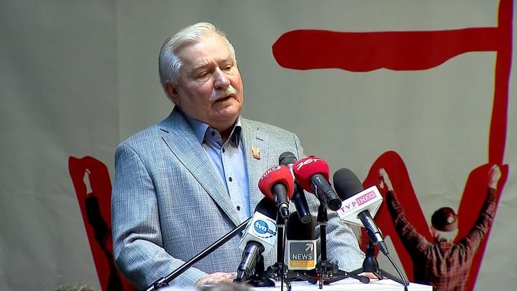 Wałęsa: staję na czele fizycznego odsunięcia głównego sprawcy wszystkich nieszczęść