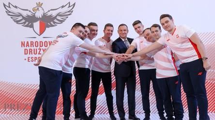 Prezydent Andrzej Duda zaprezentował Narodową Drużynę Esportu!
