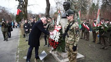 """Marsz ku czci Żołnierzy Wyklętych przeszedł ulicami Krakowa. """"Zabijano ich, a później opluwano"""""""