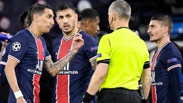 Liga Mistrzów: Paryżanie narzekają na sędziego. Holender miał wulgarnie zwracać się do piłkarzy PSG