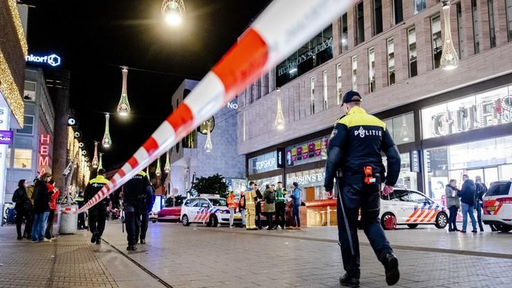 Policja: atak nożownika w Hadze nie był aktem terrorystycznym