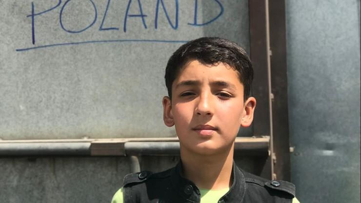 13-letni Fawad zagubił swoją rodzinę. Szukają jej polscy żołnierze