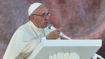 """""""Nasza odpowiedź na świat w stanie wojny: przyjaźń i braterstwo"""". Papież podczas czuwania modlitewnego"""