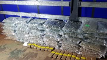 """Narkotyki warte w hurcie ok. 90 mln. zł nie trafią na rynek dzięki operacji """"Przebudzenie mocy"""""""