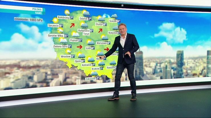 Prognoza pogody - sobota, 16 października - rano