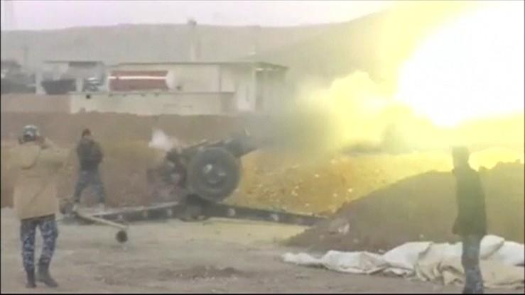 Atak na lotnisko w Mosulu
