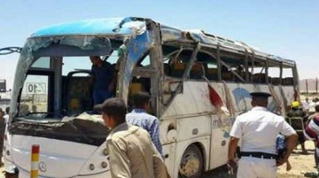 Państwo Islamskie przyznało się do ataku na autobus z chrześcijanami w Egipcie