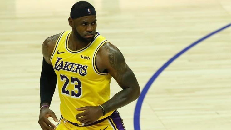 NBA: Lakers zdeklasowali Cavaliers