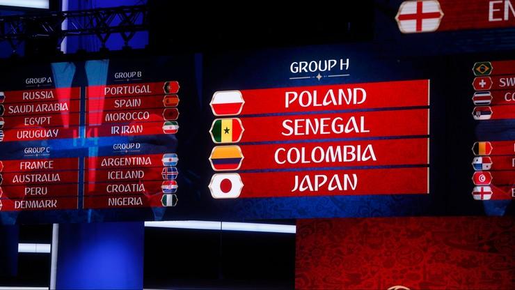 """Polska, Kolumbia, Senegal i Japonia. To """"polska"""" grupa na Mistrzostwach Świata w Rosji w 2018 r."""
