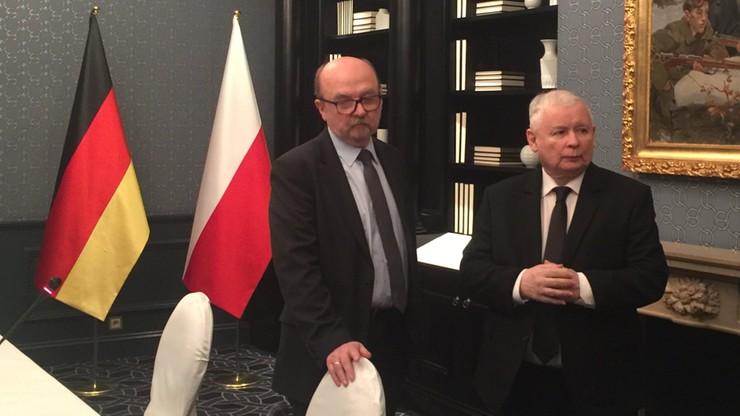 Legutko: Kaczyński powiedział Merkel, że polski rząd nie może poprzeć kandydatury Tuska