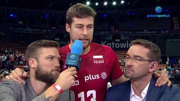 Michał Kubiak podziękował Vitalowi Heynenowi na antenie Polsatu Sport