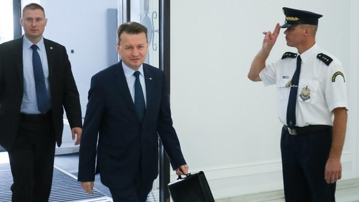 PO: Mariusz Błaszczak stchórzył nie stawiając się we wtorek przed komisją