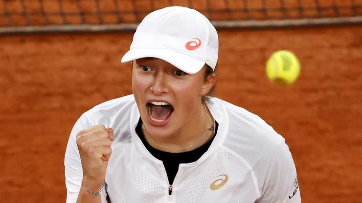French Open: Iga Świątek i Nicole Melichar zagrają w półfinale debla