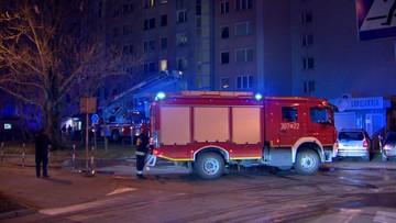 Warszawa: dwie osoby zginęły w pożarze