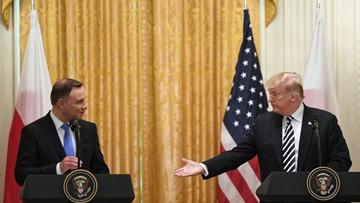 """Spotkanie Trump-Duda. """"Sojusz między Polską a USA nie był nigdy tak mocny"""""""