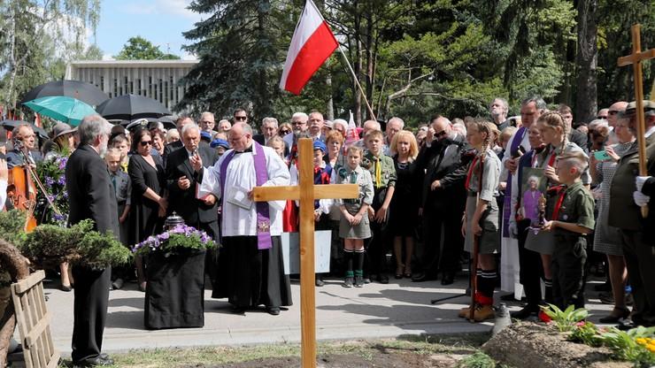 Barbara Wachowicz spoczęła na warszawskich Powązkach Wojskowych