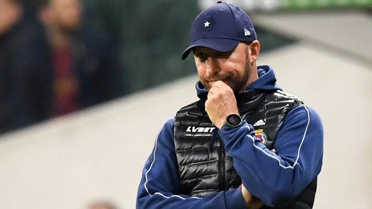Władze Wisły Kraków podjęły decyzję odnośnie przyszłości trenera