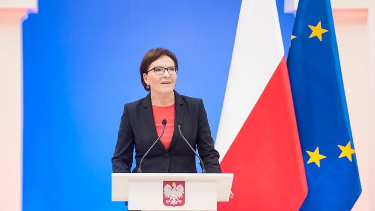 Ewa Kopacz: Ręka którą wyciągnęłam do opozycji zawisła w próżni