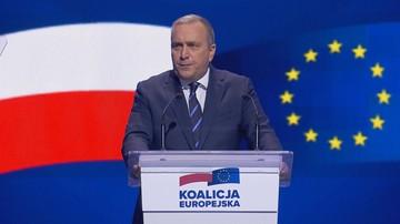 Schetyna: albo Polska jednym z liderów Zachodu, albo Polska dryfująca na Wschód