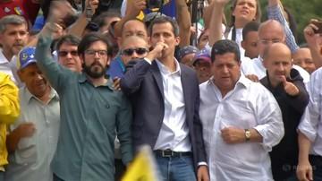 Trump uznał lidera opozycji za prezydenta Wenezueli. Maduro zrywa stosunki dyplomatyczne z USA