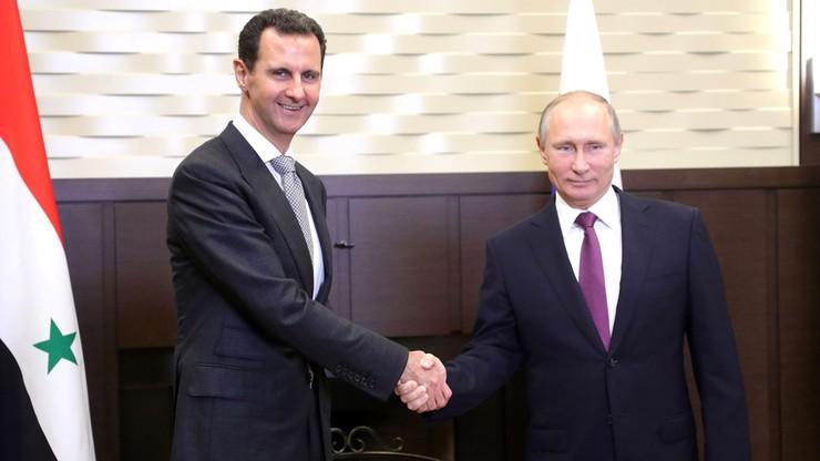 Baszar el-Asad: naloty na Syrię były aktem agresji