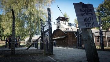 Antysemickie hasła w Auschwitz
