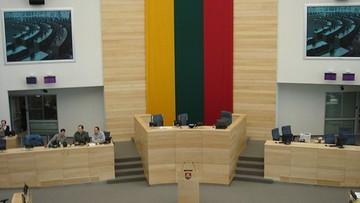 Litewski Sejm potępił wybory w Donbasie. Na sali m.in. marszałek Karczewski
