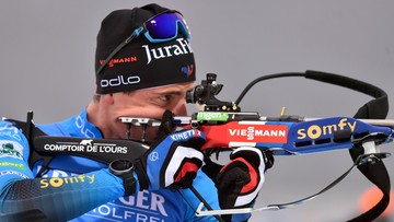 PŚ w biathlonie: Fillon Maillet najlepszy w biegu na dochodzenie