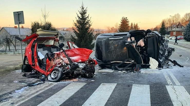 Podkarpacie: śmiertelny wypadek w Bliznem. Nie żyją dwie osoby