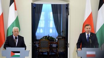 Konflikt izraelsko-palestyński. Prezydent Abbas o ustanowieniu niezależnych państw: Palestyny i Izraela