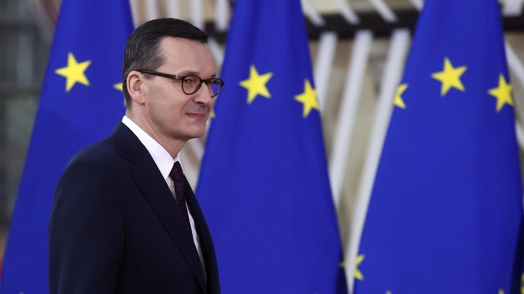 Szczyt ws. budżetu UE. Morawiecki: nowe propozycje są lepsze od wcześniejszych