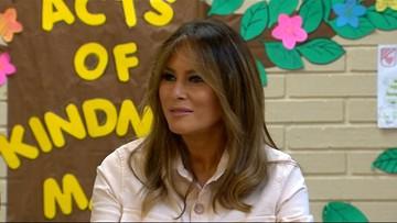 Melania Trump odwiedziła dzieci imigrantów w ośrodku odosobnienia
