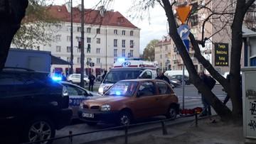Nożownik ranił człowieka na warszawskim Mokotowie. Nie żyje ugodzony mężczyzna